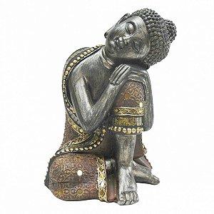 Buddha de resina 23,5cm