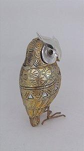 Coruja Decorativa 15cm