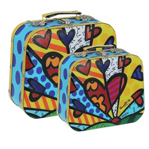 Conjunto Maleta New Day - Romero Britto