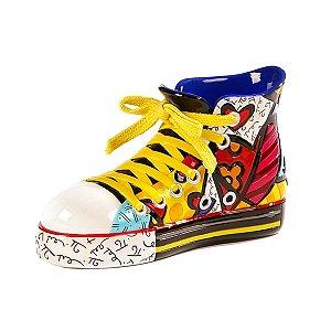 Escultura Sapato Sneaker - Romero Britto