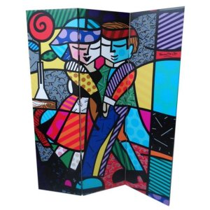 Biombo Cheek to Cheek - Romero Britto