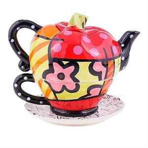 Tea For One Apple Teapot