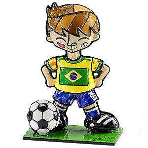 Mini escultura Brasil - Romero Britto