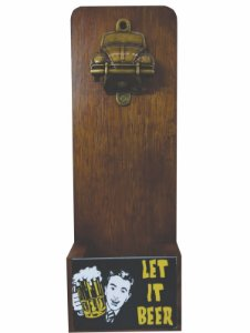 Abridor de Garrafa Fusca - Let it beer