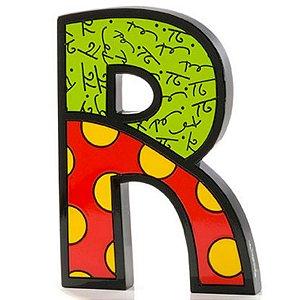 Letra R - Romero Britto