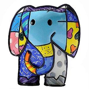 Mini Escultura Elefante Lucky - Romero Britto