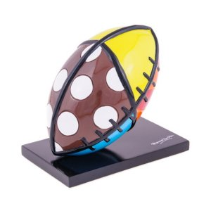 Escultura Bola Football - Romero Britto