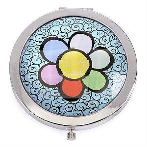 Espelho de Bolsa Flower - Romero Britto