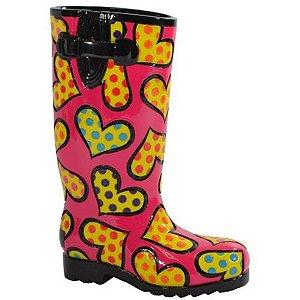 Escultura Sapato Rainboot - Romero Britto