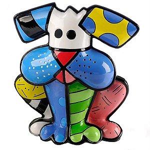 Escultura Cachorro Terrier - Romero Britto