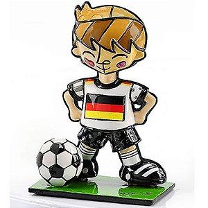 Mini Escultura Alemanha - Romero Britto