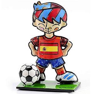 Mini Escultura Espanha - Romero Britto