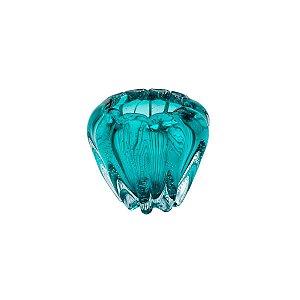 Vaso Murano Italy Tiffany 16x14cm