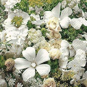 Pacote 20 Guardanapos Floral Dream