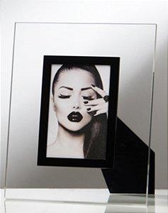 Porta Retrato Brigite 10x15cm - Preto
