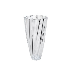 Vaso Cristal Scallop 35,5cm
