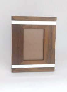 Porta Retrato Imbuia 10x15cm