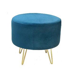 Banqueta Estofado Azul
