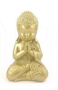 Monge da Meditação Dourado