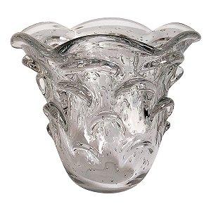 Vaso Murano Alto Transparente 14cm