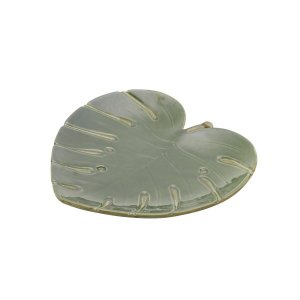 Folha Decorativa Costela de Adão Leaf Verde 28cm