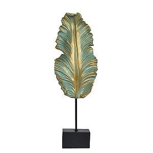 Estatueta Palmidoro Dourada