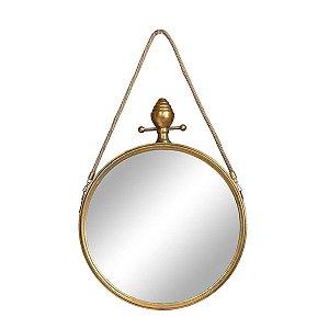 Espelho Basel Dourado G