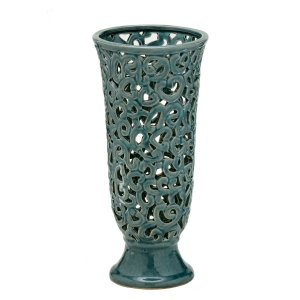 Vaso Decorativo Azul 33cm