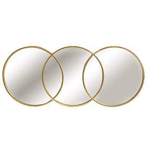Espelho Archi Dourado