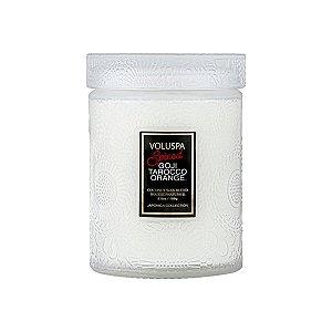 Mini Vela Spiced Goji Tarocco Orange Pote Vidro 50H