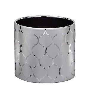 Cachepot Prata Decorativo
