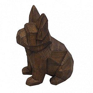 Cachorro Decorativo Marrom BTC