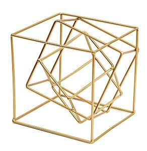 Cubo Dourado 17cm Mart