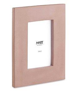 Porta Retrato em Cimento Rosa 10x15cm Mart