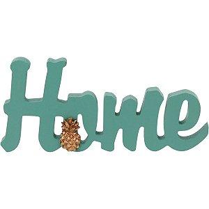 Palavra Home Vert Decorativa GS