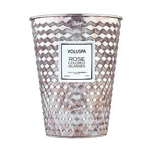 Vela Rose Colored Glasses Lata Cone 100H Voluspa