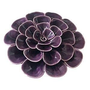Flor Decorativa Roxa BTC