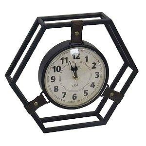 Relógio de Mesa em Metal BTC