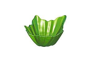 Tigela Leaves Decorativa Verde Vylux