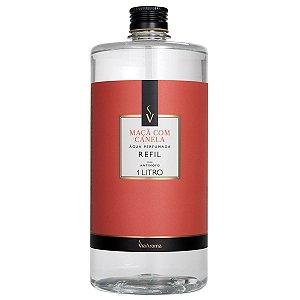 Refil Água Perfumada Maçã com Canela 1L Via Aroma
