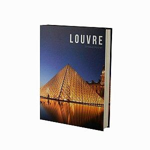 Caixa Livro Papel Louvre Rojemac