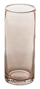 Vaso Rosé em Vidro 29,5cm Mart