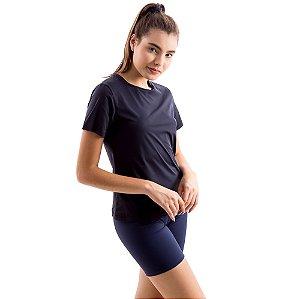 Camiseta Básica Dry-Fit - Preto