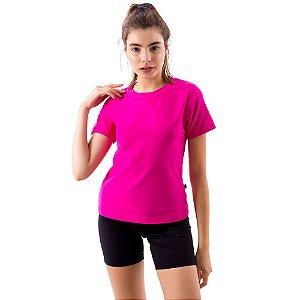 Camiseta Básica Dry-Fit - Rosa