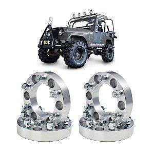 kit 4  - Alargador de Rodas jeep willys 5x139,7 - 38,1mm