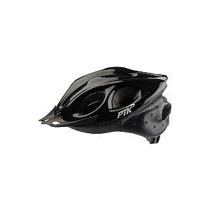Capacete Adulto Ciclismo Preto c/ Regulador