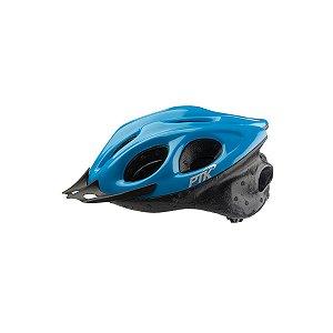 Capacete Adulto Ciclismo Azul Claro c/ Regulador