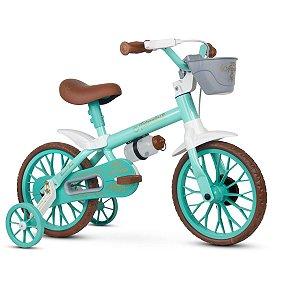 Bicicleta Aro 12 Antonella Baby Verde