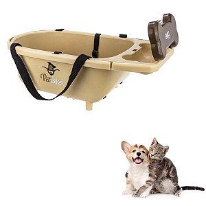 Cesto Bike Carro Bolsa Para Cães e Gatos Até 8kg ou Filhote