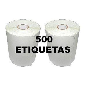 Kit 2 Rolos De Etiqueta Térmica mr693